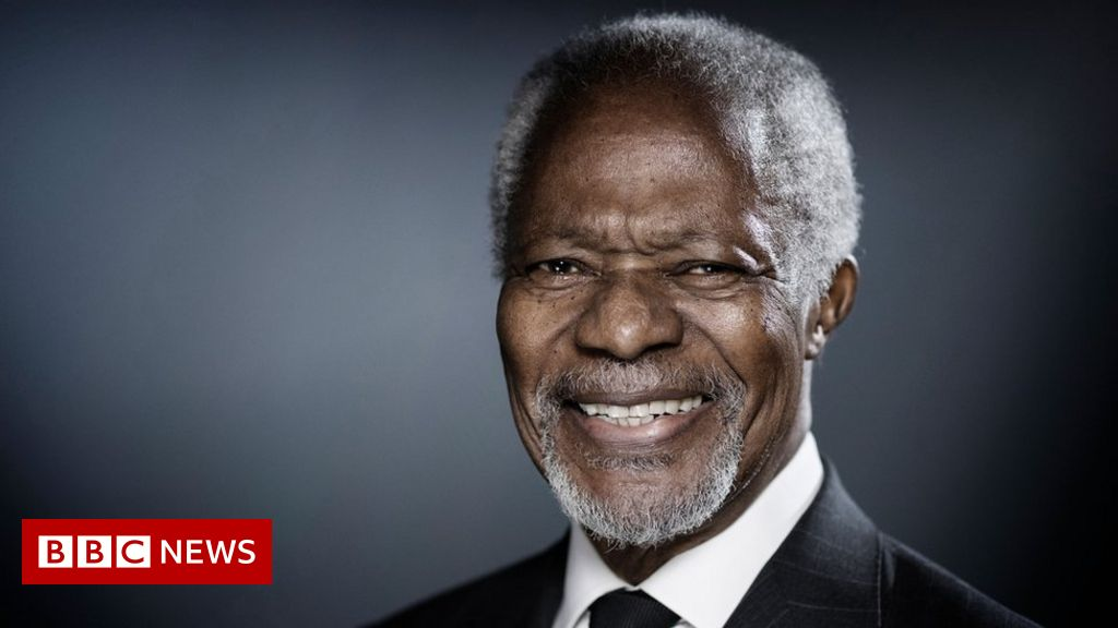 Kofi Annan: Former UN chief and Nobel Peace Prize laureate