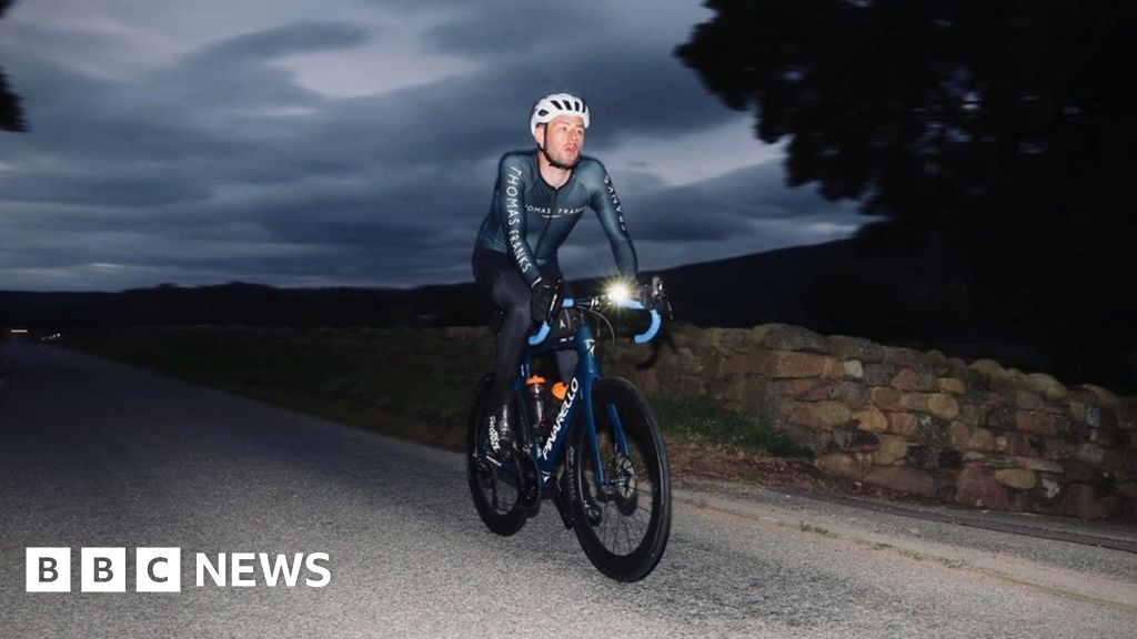 Crash cyclist Josh Quigley set to achieve new Guinness World Record