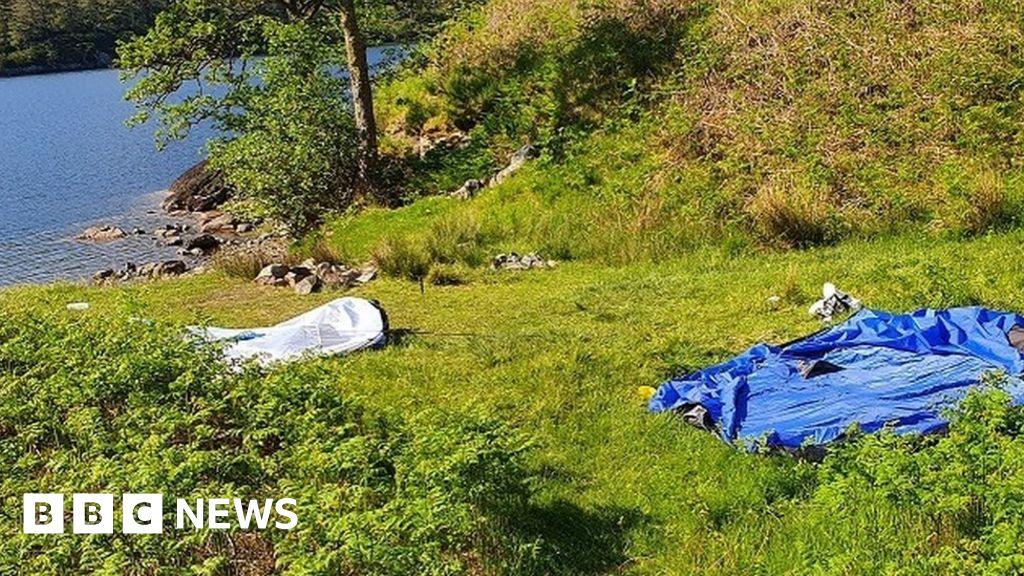 Coronavirus: 'Uncontrolled camping a public health risk' thumbnail