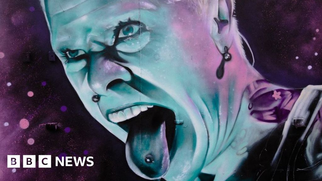 Keith Flint football club mural gets Prodigy 'respect'
