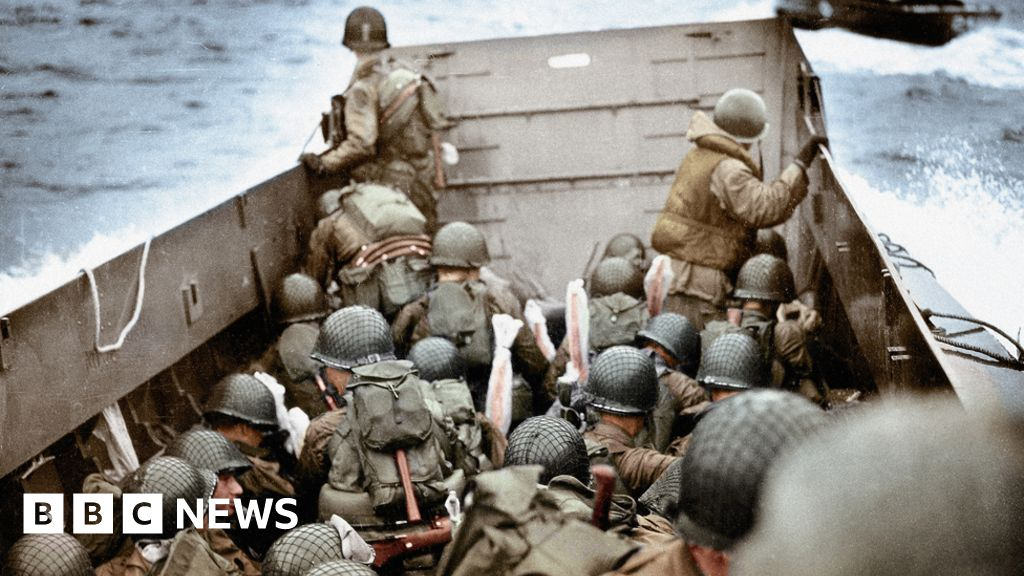 """""""I survived"""" D-Day """"- my first champagne had"""""""
