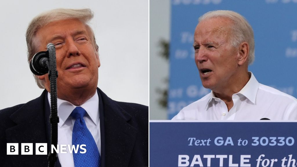 US election: Biden hits new battleground, Trump blitzes Midwest