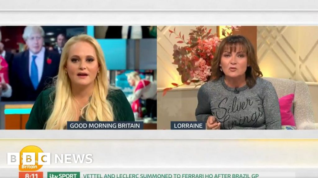 Lorraine Kelly and Jennifer Arcuri clash over Good Morning Britain interview