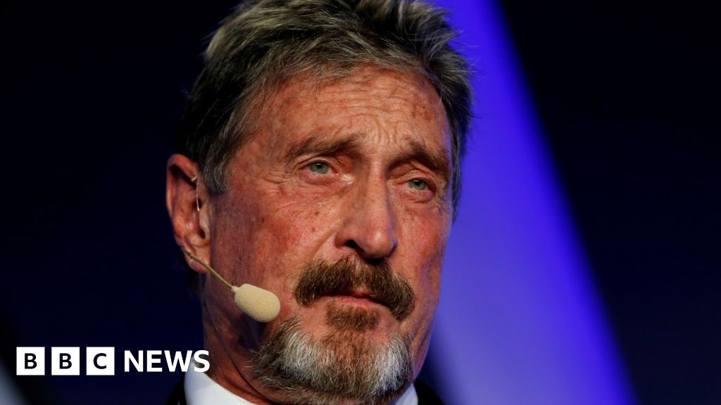 John McAfee charged with fraud over cryptocurrency - bbc