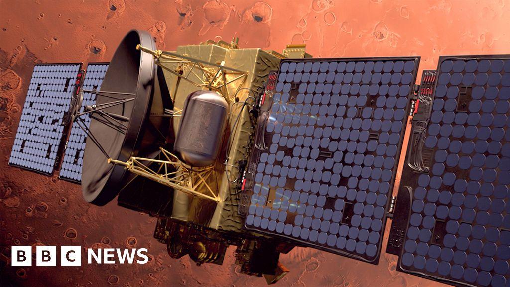 Emirates Mars Mission: Hope spacecraft enters orbit - BBC News
