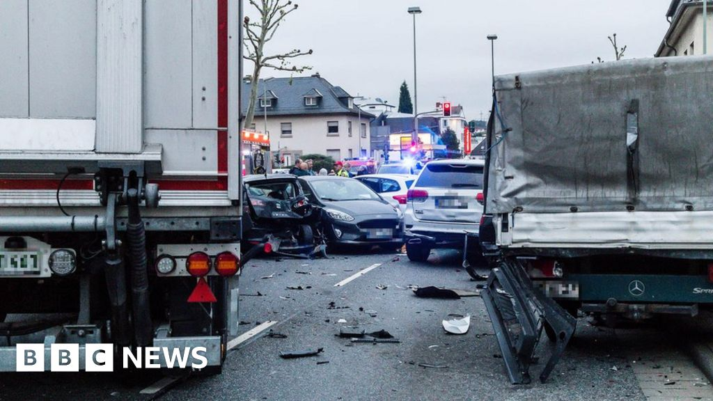 German lorry attack in Limburg seen as 'act of terrorism'