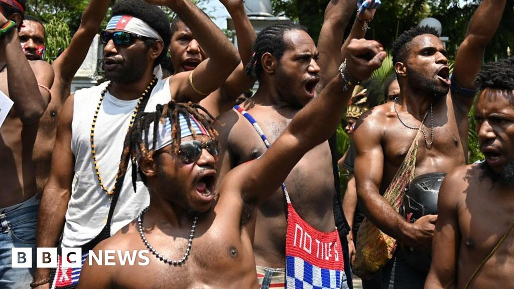 Papuans protest for independence