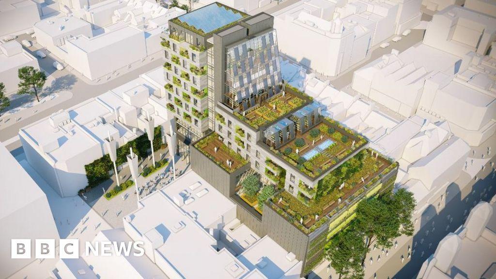 'Urban farm' city centre block gets green light