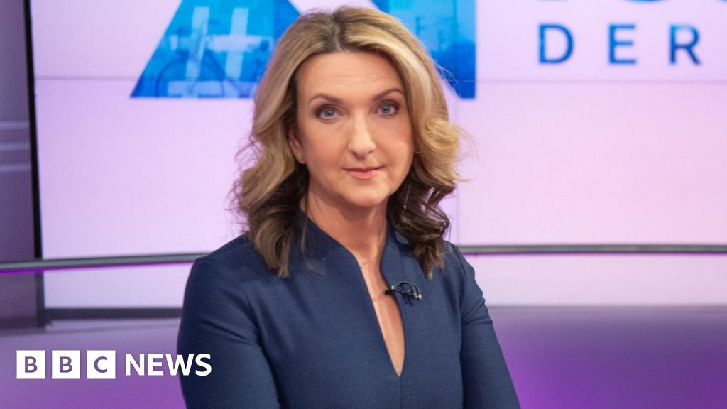 Victoria Derbyshire says 'we don't give up' after her TV show is cut