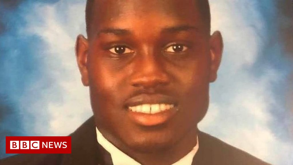 Man 'used racial slur' after shooting black jogger