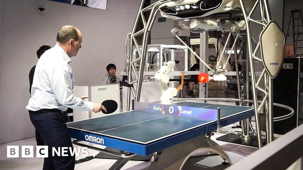 how to make a ping pong robot