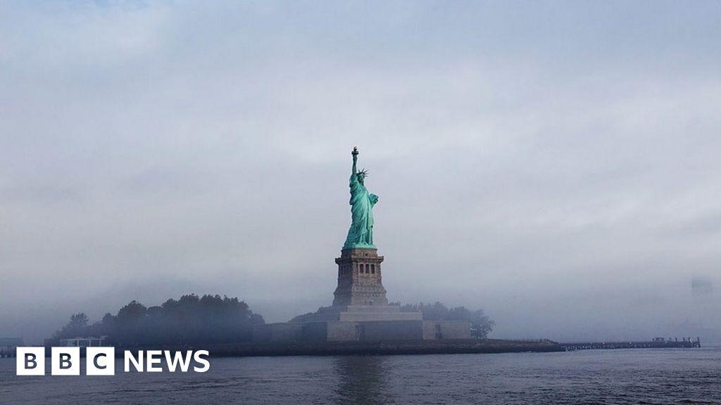 Trump official revises Statue of Liberty poem