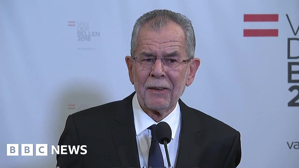 "Austria election: Van der Bellen promises to be ""pro ..."