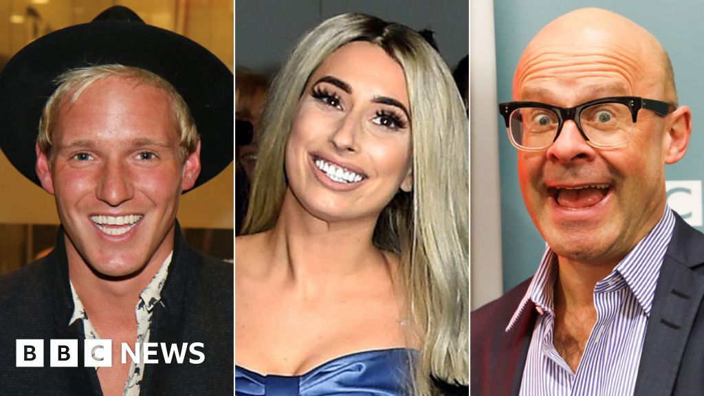 Jamie Laing and Stacey Solomon among Bake Off stars