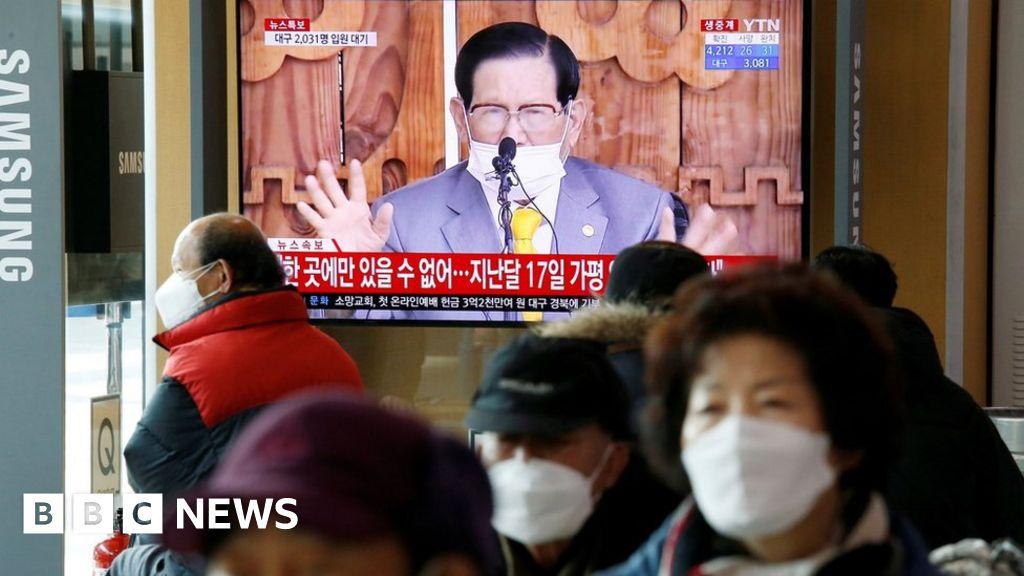 Coronavirus: South Korean Shincheonji sect leader arrested