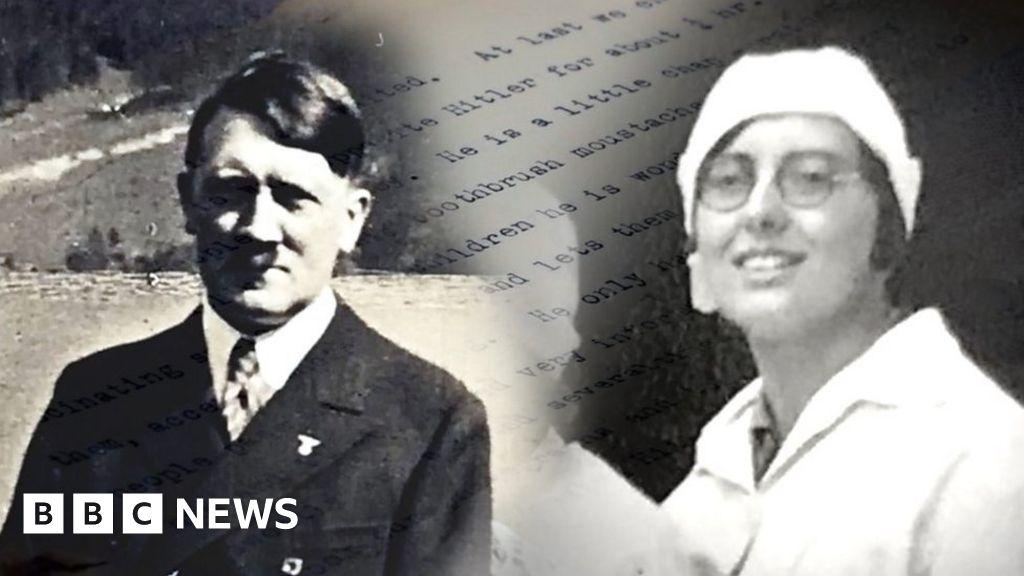 Girl Guide's diary describes visiting Hitler in 1936 thumbnail
