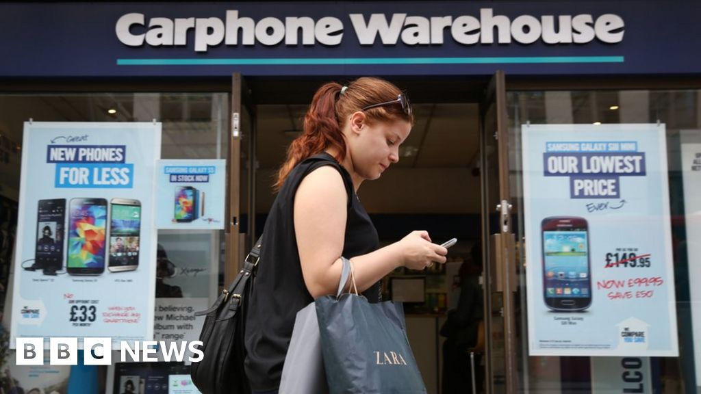 Carphone Warehouse to close all standalone stores at cost of 2,900 jobs