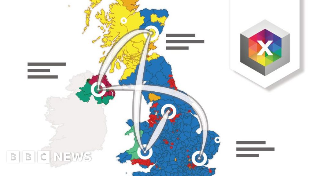 General election 2019: Animated tour in 10 stops