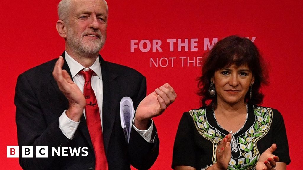 Corbyn was 'vilified' as Labour leader, says wife
