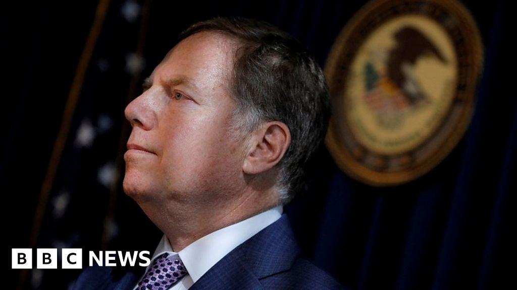 U. S. attorney Geoffrey Berman, he denies his resignation