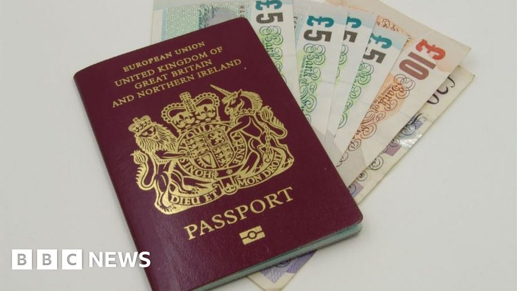 Cost Of British Passport To Increase Bbc News