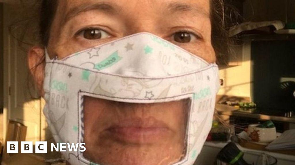 Coronavirus: Clear masks made to assist lip-reading deaf folks thumbnail