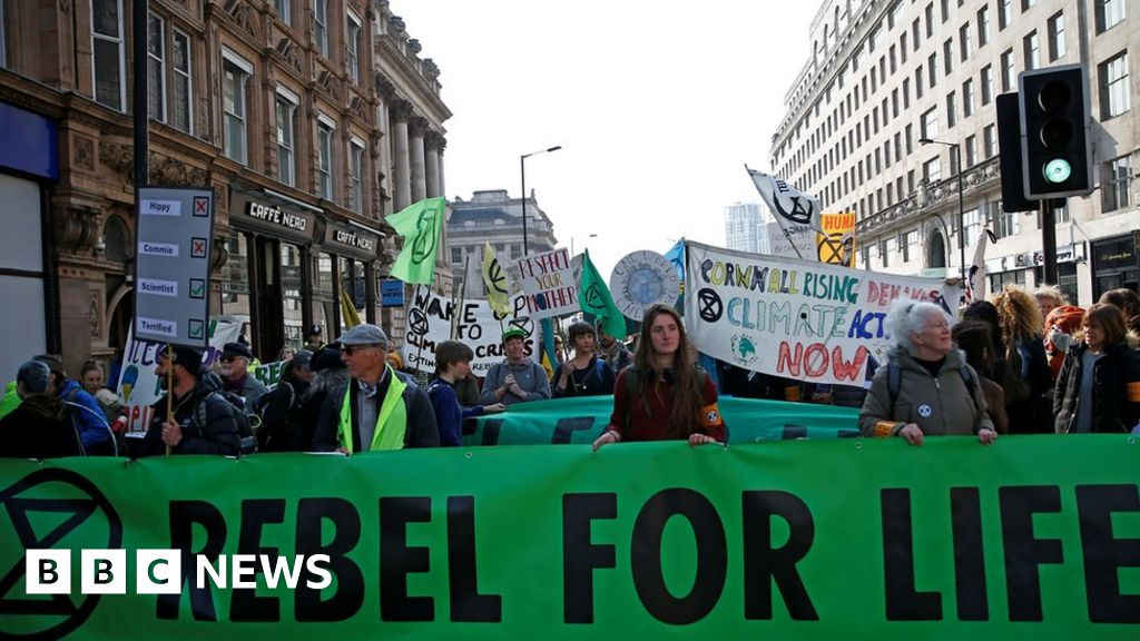 Climate protesters block London roads