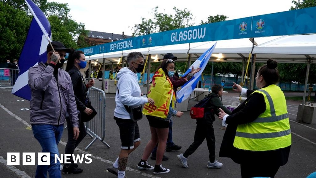 Covid in Scotland: Fan zone ticket holders to be sent testing kits