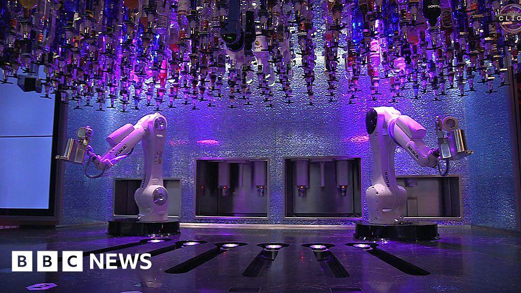 Robot bartender: The bar where machines mix drinks