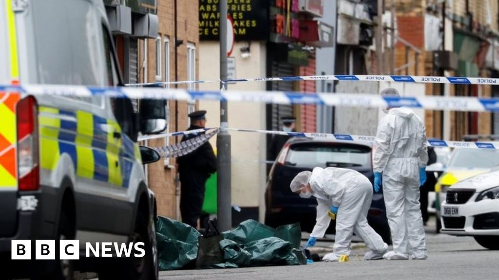 Liverpool shooting: Woman shot by police in street