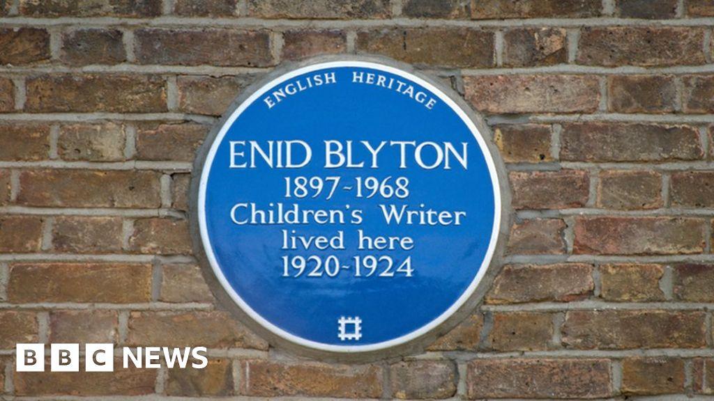 Enid Blyton: English Heritage has no plans to remove plaque