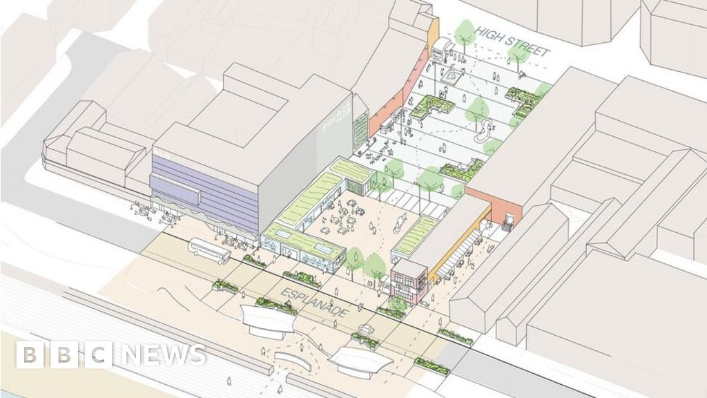 Redcar Council buys M&S shop to demolish as part of revamp - BBC News