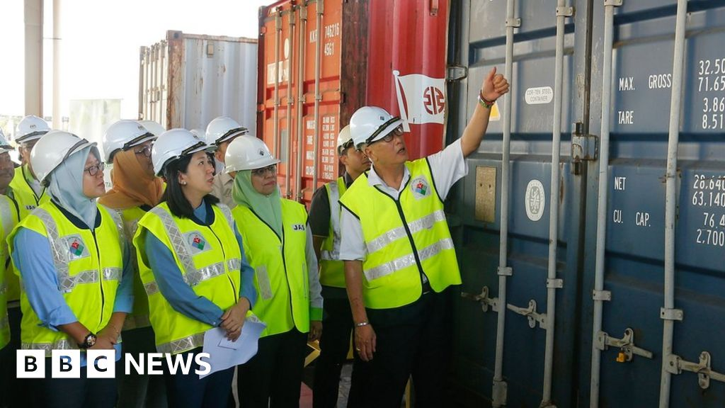 Malaysia returns 42 containers of 'illegal' plastic waste to UK