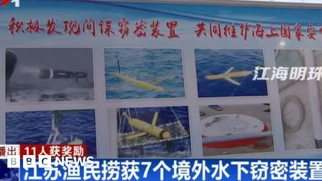 """Why are Chinese fishermen, so many """"U-boat spies ?"""