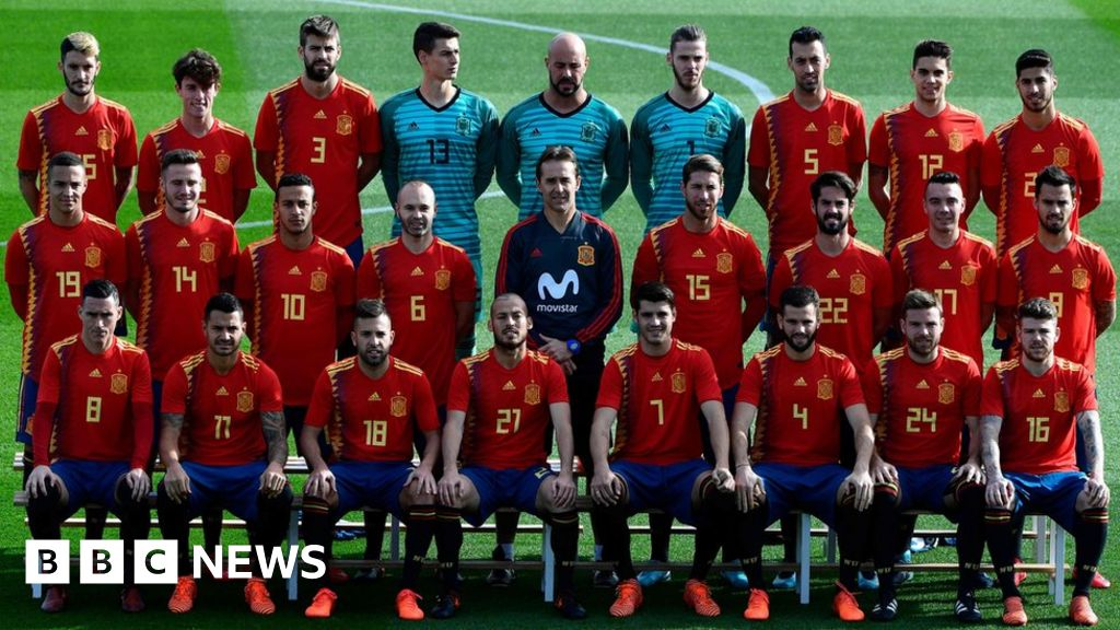 703b9d24f7c Controversial Spain football shirt causes anger - BBC News