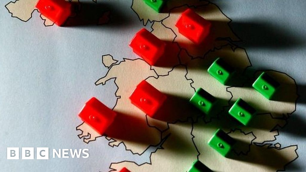 North-South divide in house prices