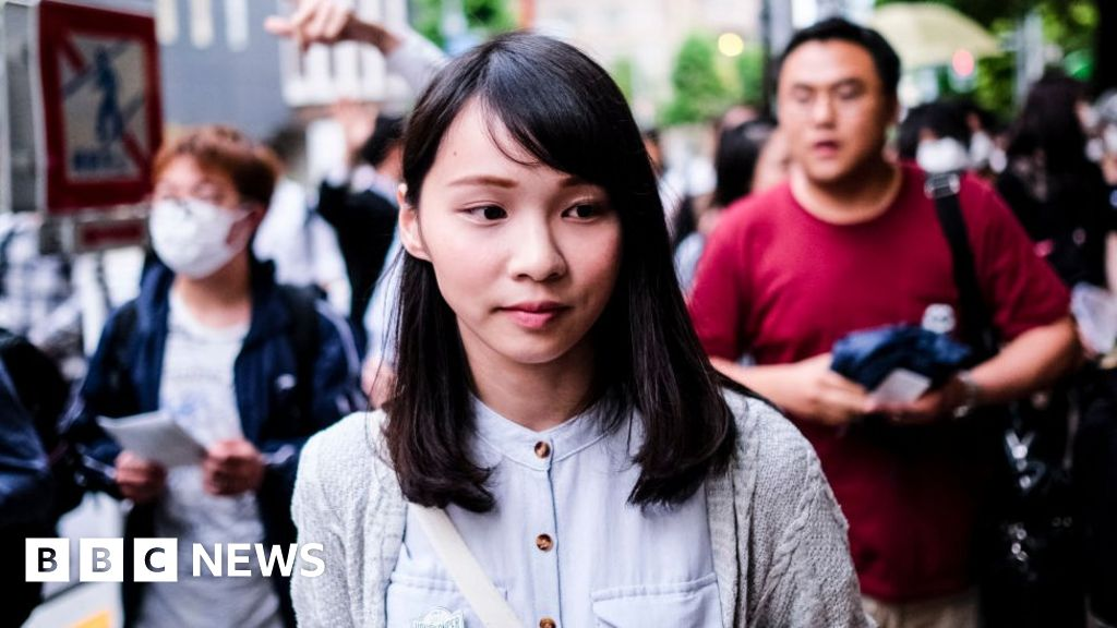 Agnes Chow: Hong Kong activist hailed as the 'real Mulan'