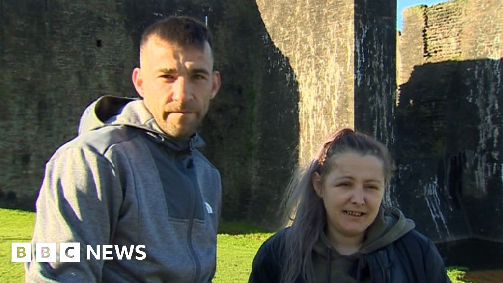 Fireworks thrown at homeless pair in Caerphilly tent