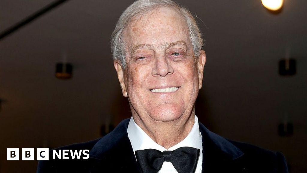 Billionaire Republican donor David Koch dies