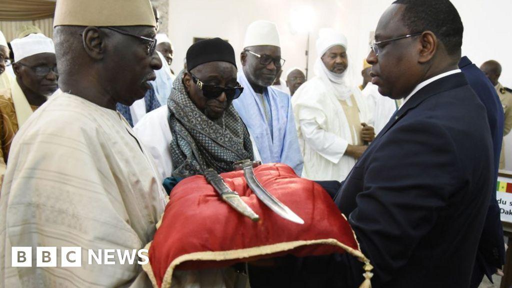 France returns Omar Tall's sword to Senegal