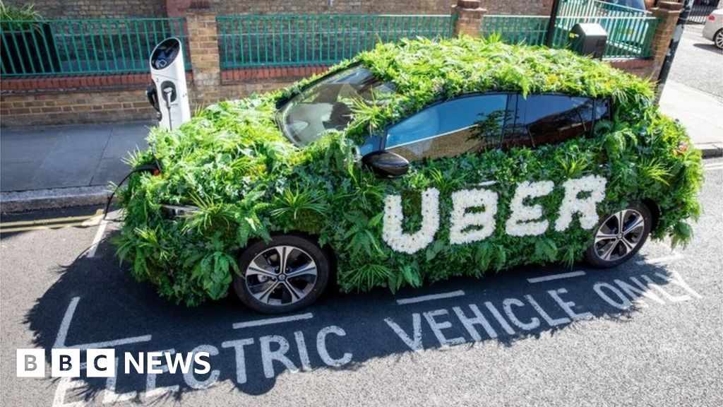 London Uber fares go up after electric car charge