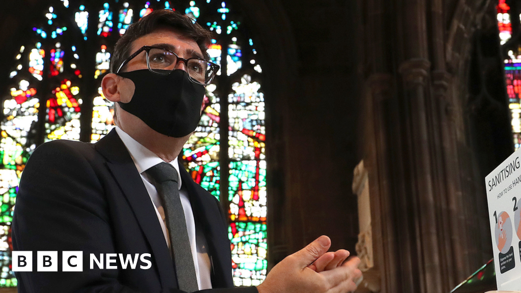 Coronavirus: Fix contact tracing or shut pubs, Mayor Andy Burnham says - BBC News