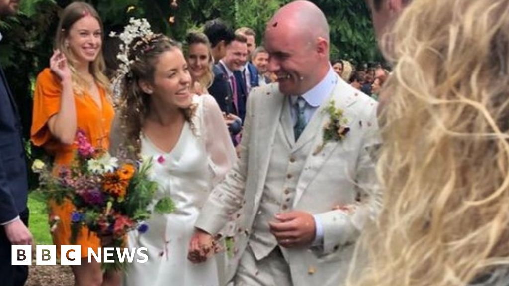 North Yorkshire newlyweds  delighted  after flooding drama