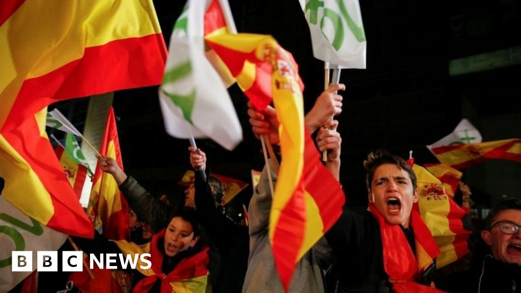 New uncertainty in Spain as right makes gains