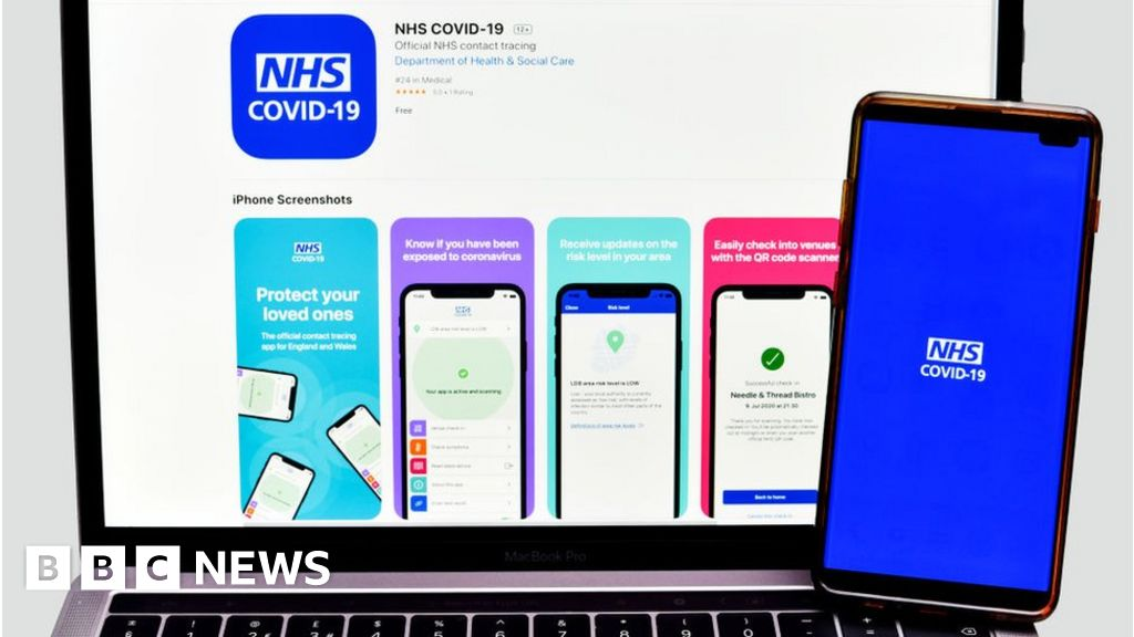 Covid contact-tracing app not sharing data with police