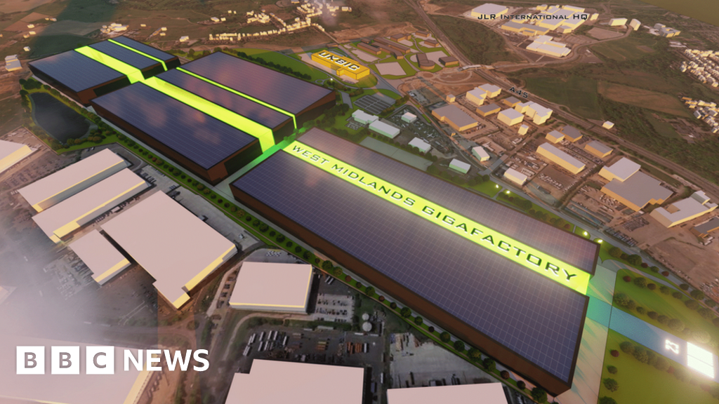 Plans submitted for electric battery 'gigafactory' in Coventry