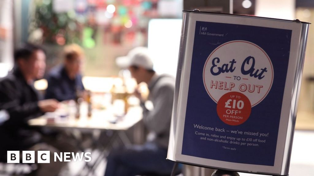 Eating out scheme pushes down August inflation
