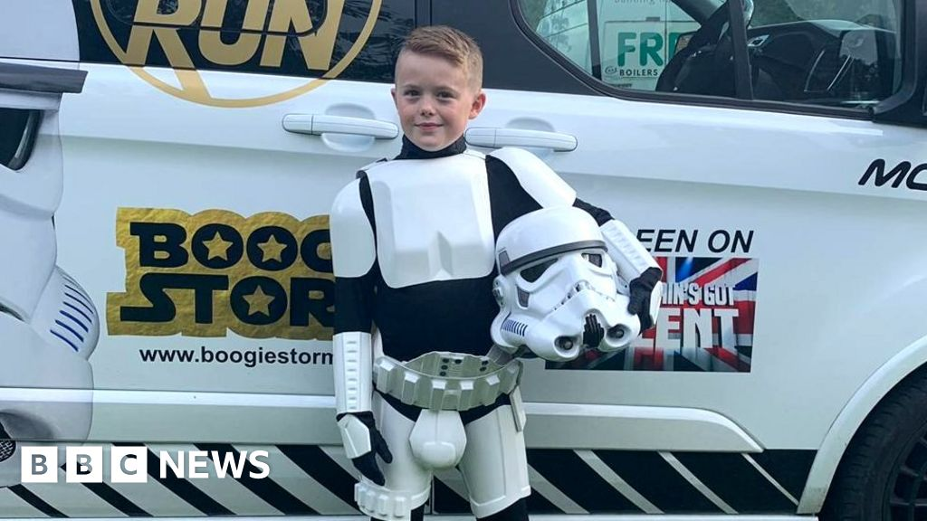 Bullied for dancing - now bossing it as Britain s Got Talent s masked star