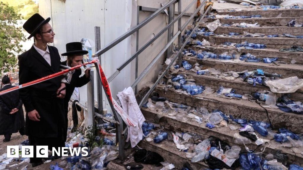 Israel crush: Dozens killed at Lag B'Omer religious festival – BBC News