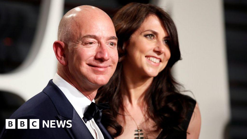 Amazon boss in record-breaking $35bn divorce